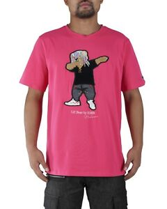 Hudson-Outerwear-Pink-034-Lil-039-Bear-034-T-Shirt