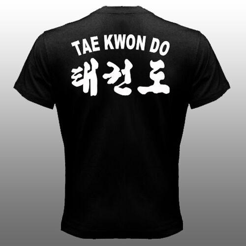 New Korean ITF international Taekwon-Do Federation Full Contact T-shirt
