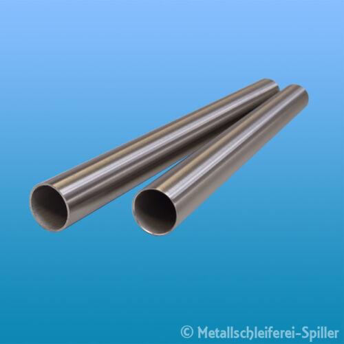 300-1600 mm V2A geschliffen Edelstahlrohr Edelstahl Rundrohr Ø 38 x 2,0 mm L