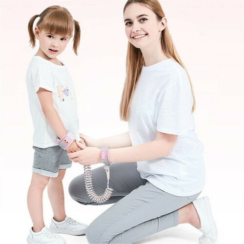 Reflective Anti Lost Wrist Link for Toddlers Kids Harness Safety Leash with Lock