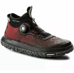newest 2428d 9ae79 Details about Under Armour Fat Tire 2 Storm Charged BOA Black Shoes Mens Sz  8.5 1285684-600
