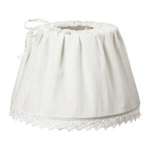 Brand new ikea utnas white pendant lamp fabric shade 1537cm ebay image is loading brand new ikea utnas white pendant lamp fabric mozeypictures Choice Image