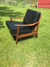 Vintage Mid Century Modern Danish Atomic Lounge Chair Armchair