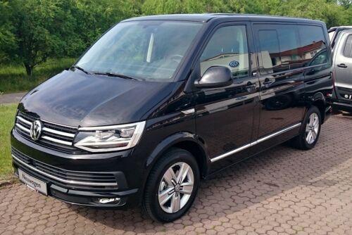 Für VW T6 Caravelle paßgenaue Stoff-Sitzbezüge Design VIP.