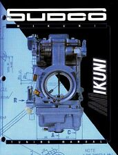 Sudco Mikuni Carb Carburetor Tuning Manual RS VM HSR TM TMX HS BN 002-999