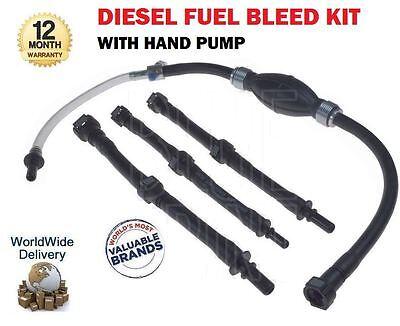 Para Citroen Ford Land Range Rover Peugeot Nuevo Kit de sangrado de combustible Diesel conjunto de la bomba