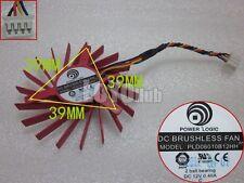 ATI HD4850 HD4830 graphics card fan Power Logic PLD06010B12HH 12V 4-Pin 2 Ball