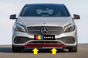 Nuovo-Originale-Mercedes-Benz-MB-Classe-a-W176-AMG-Paraurti-Anteriore-Spoiler