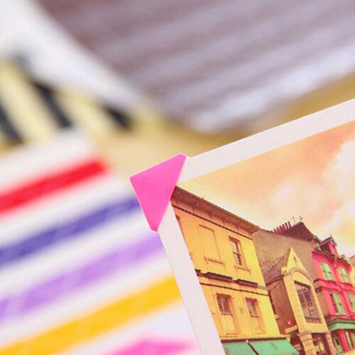 102//408 pcs Self-adhesive Photo Corner Stickers scrapbook album essentia RAS