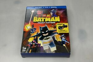 USED-Blu-Ray-LEGO-BATMAN-FAMILY-MATTERS-NO-DIGITAL-CODES-SEE-DESCRIPTION