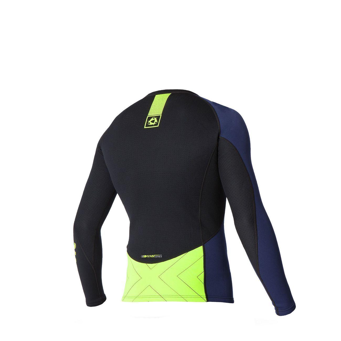 Mystic Neoprene Neoprene Neoprene Uomo Maglietta Sport Shirt Manica Lunga Top Sport Fitness vele b24f00