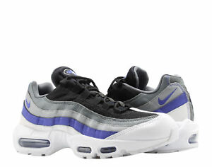 buy popular 8dba8 65bac Image is loading Nike-Air-Max-95-Essential-White-Violet-Grey-
