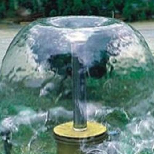 """1/"""" DN25 Champignon Spring Fountain Pond buses laiton Arroseur tête de pulvérisation"""