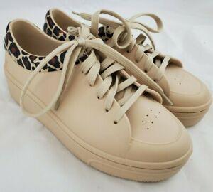 Melissa Shoes Womens Size 8 USA Tan