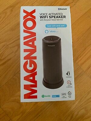 Magnovox Alexa Voice Activated Wifi Speaker | eBay