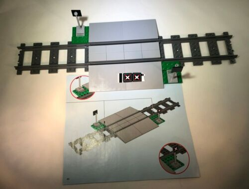 New Out of Box! LEGO 60198 Cargo Train Level RAIL CROSSING ONLY