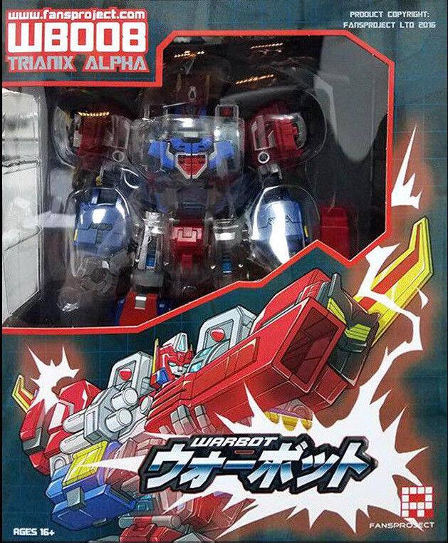 Transformers Fansproject WB008 Trianix Alpha Brand New