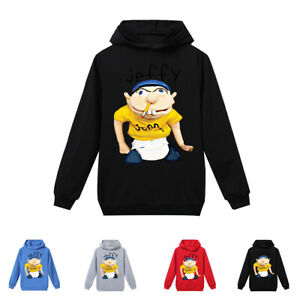 Jeffy-Spring-And-Autumn-Children-039-s-Hoodie-Boys-039-Long-Sleeve-T-shirt-Sports-Shirt