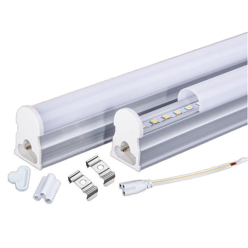 1200mm (1,2 m) 20W T8 integrado LED tubo, aíslado driver, Pure blanco 6500k X 10