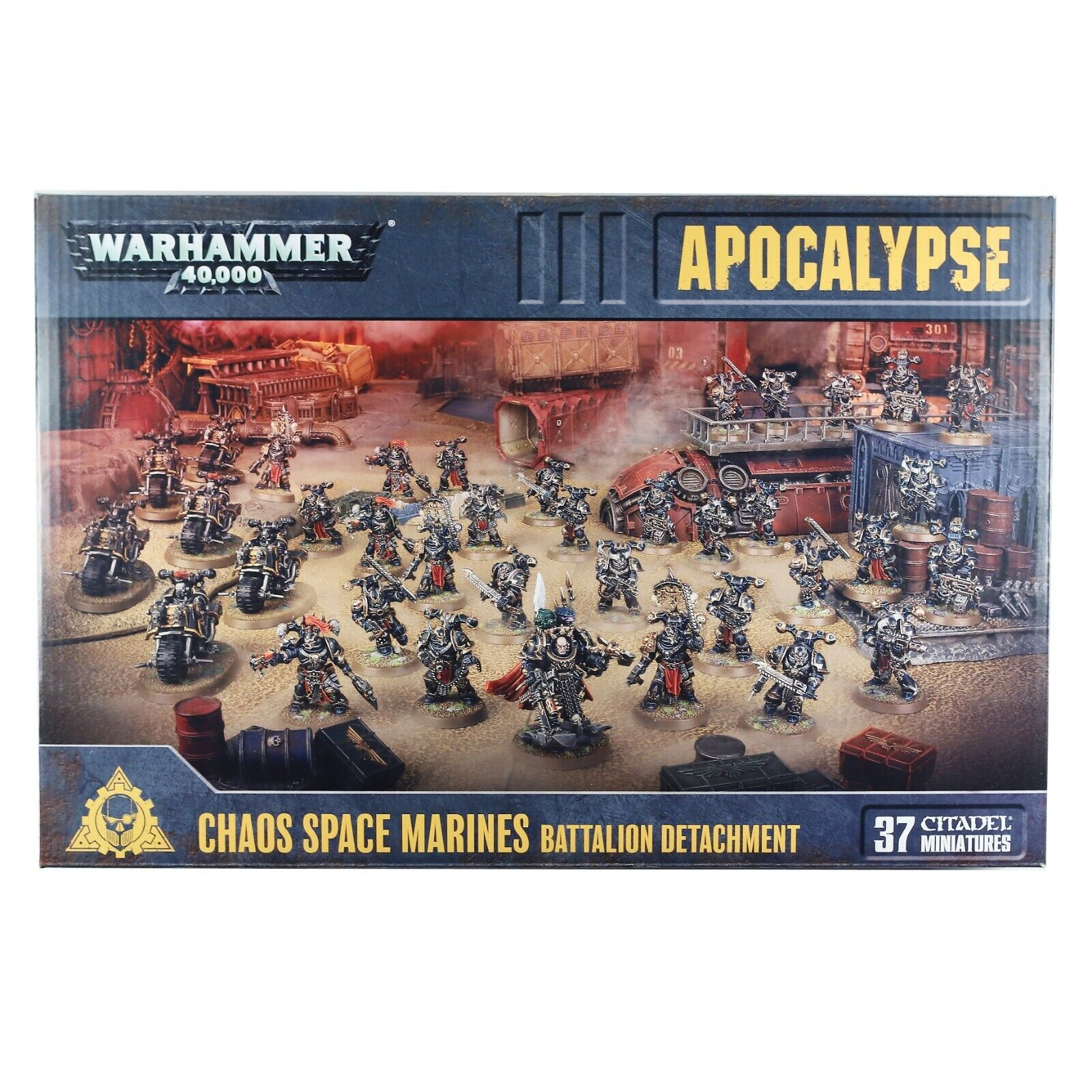 Apocalypse  Chaos Space Marines Bataillon DetachHommest Warhammer 40,000 (43-64)  magasin en ligne de sortie