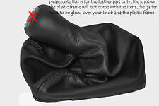 FITS MERCEDES CLK W208 GEAR GAITER KNOB COVER BLACK LEATHER MANUAL