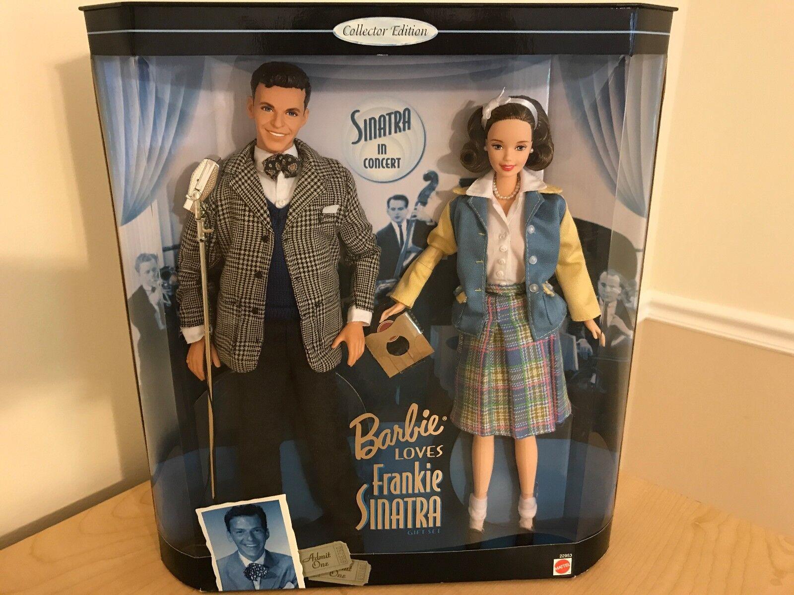 Nunca quitado de la Caja de Barbie Ama Frankie Sinatra Barbie Y Ken Set 1999
