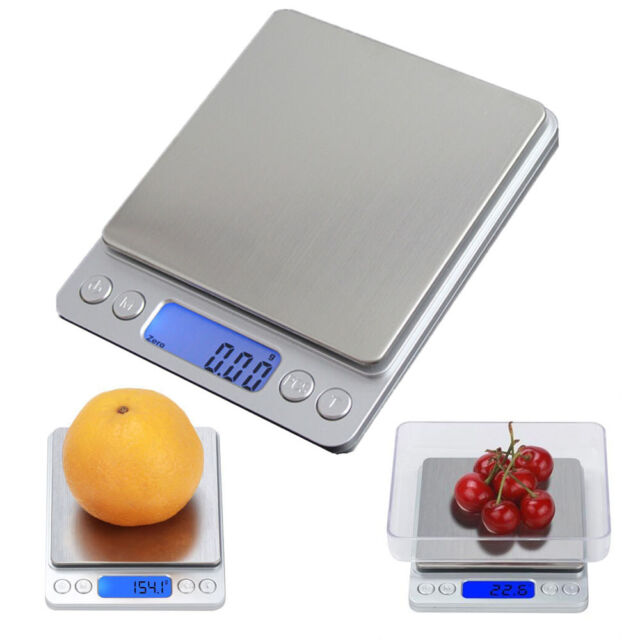 Digitale Küchenwaage 5000g Auflösung 1g Briefwaage digital Grammwaage Waage 5kg