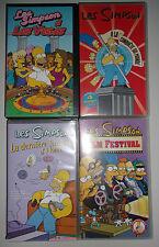 LOT 4 K7 VIDEO VHS SPECIAL LES SIMPSONS