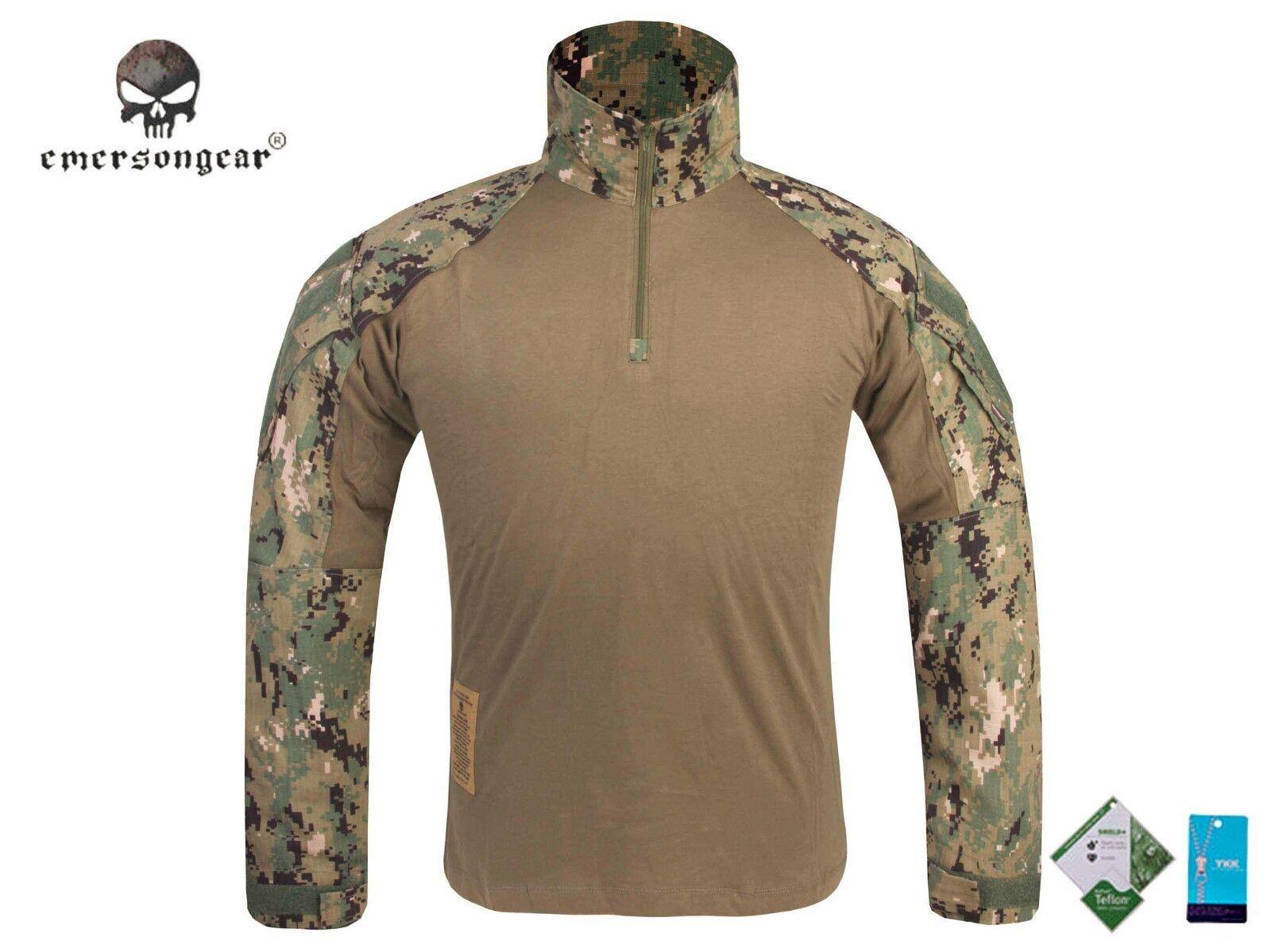 Emerson Combat Gen3 Shirt Airsoft Hunting Military Tactical bdu Shirt Aor2