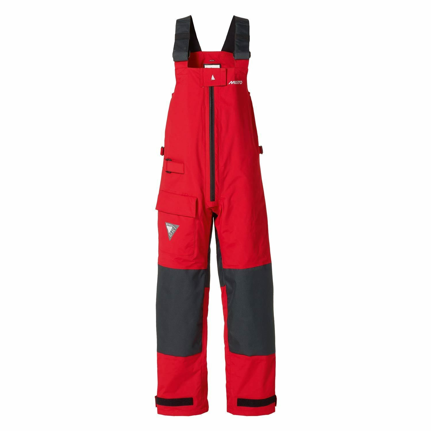 Musto Womens BR1 Trousers - Red Dark Grey