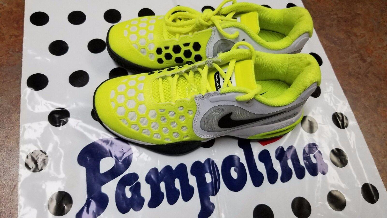 Nike Air Max Courtballistec 4.3 (GS) Junior Tennis Shoes Size 4.5Y 488147 101