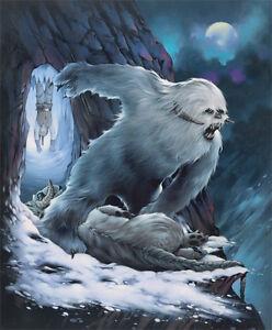 Image Is Loading Hoth Wampa And Prey Tauntaun Luke Skywalker Star