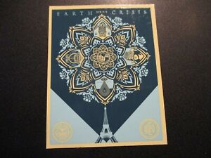SHEPARD FAIREY Obey Giant Sticker 4 X 5 in art from CONSTRUCTIVIST BANNER poster