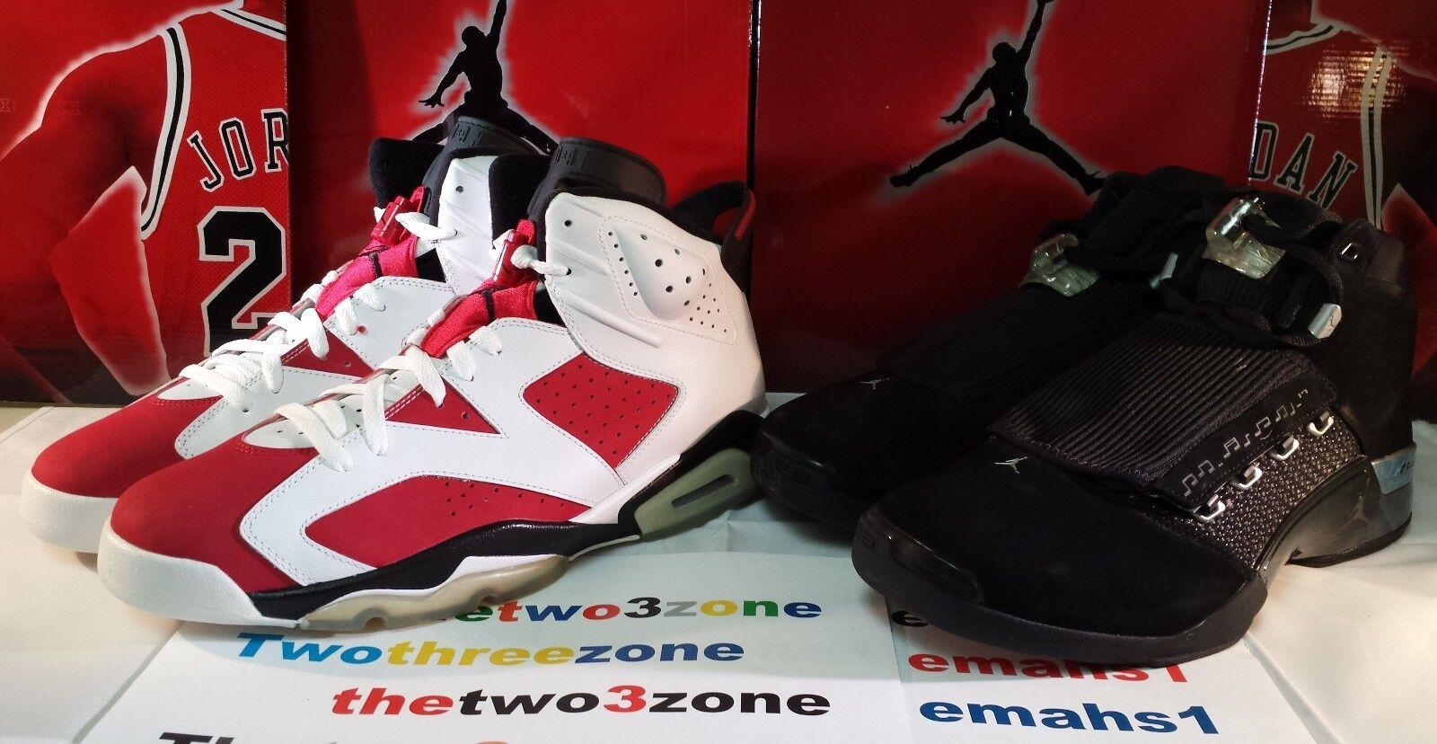 Nike Air Jordan Retro 17 6 CDP sz 12 XVII VI dmp carmine doernbecher iv xi iii