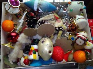 Addobbi Natalizi Anni 50.Decorazioni Albero Di Natale Vintage Anni 50 E 60 1 Lotto A Scelta Ebay
