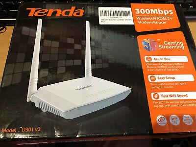 Tenda D301v2 wireless router Single