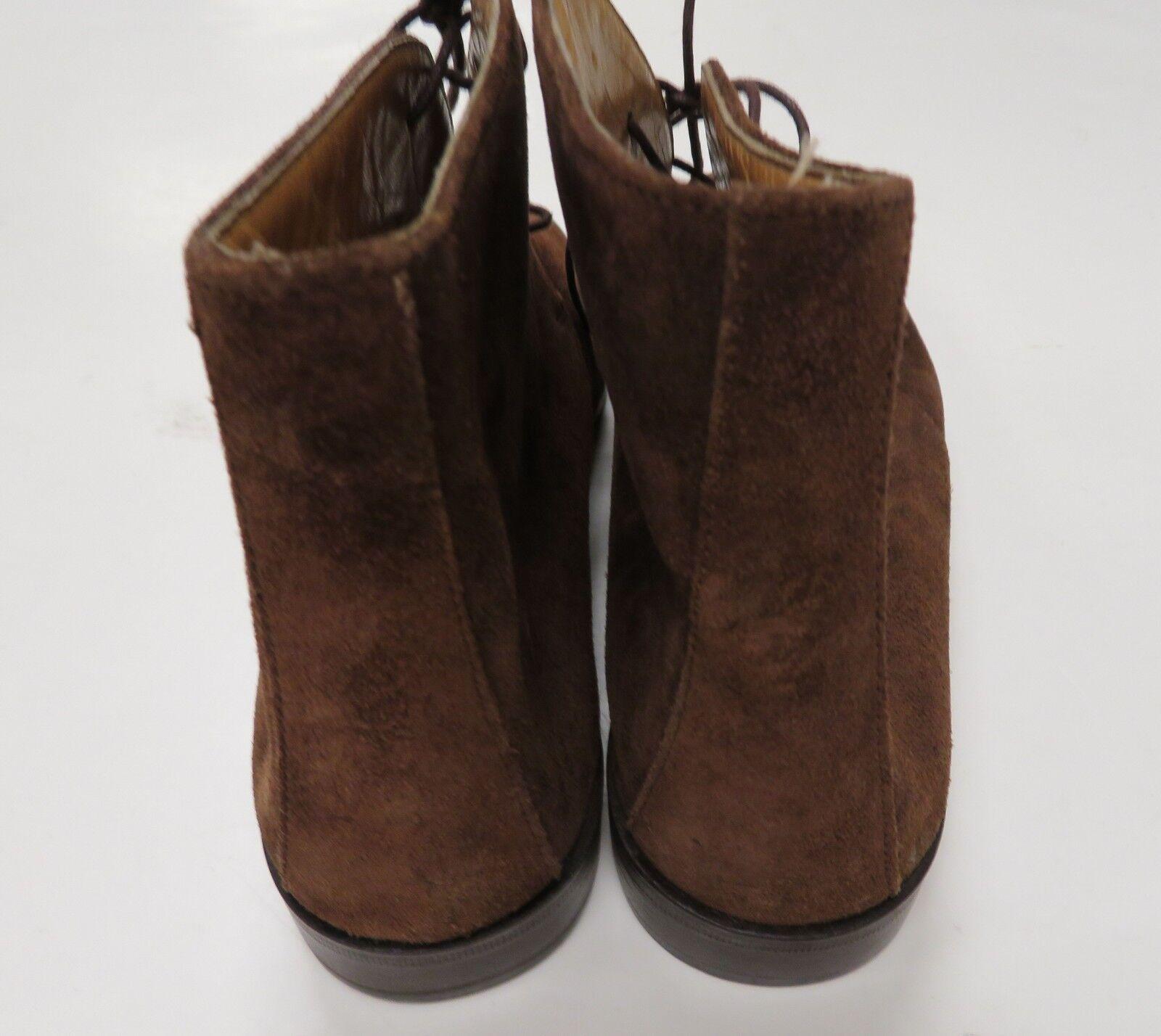 Brooks Brothers Leder Braun Chukka Stiefel Suede Leder Brothers 6 1/2 B Made in  b152ec