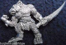 1987 Skaven C22 Rata Ogro 2 Caos ratmen Citadel Warhammer ejército Beast Master ogor