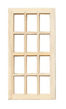 Dollhouse 1/24 Scale Houseworks 12 Light Window #HWH5024