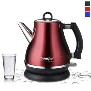 Cordless-Electric-Kettle-Kitchen-Heating-Stainless-Steel-Teapot-1-2l-1500w