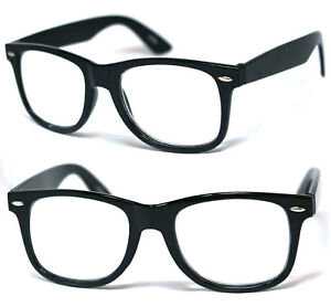 aeef27b092 Large Square Frame Clear Lens Reading Glasses Various Strength Shiny ...