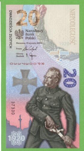 POLAND 20 ZŁOTYCH  2020 100th BATLE OF WARSAW 1920 COMM UNC FOLDER
