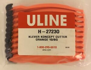Details about Klever Koncept Cutter 10 Pack H-27230 Recessed Blade Safety  Box Cutter Uline