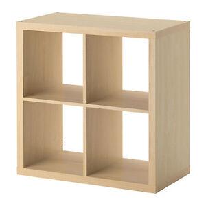 kallax 77x77 birke nachbildung ikea regal wohnen raumteiler expedit neu ovp ebay. Black Bedroom Furniture Sets. Home Design Ideas
