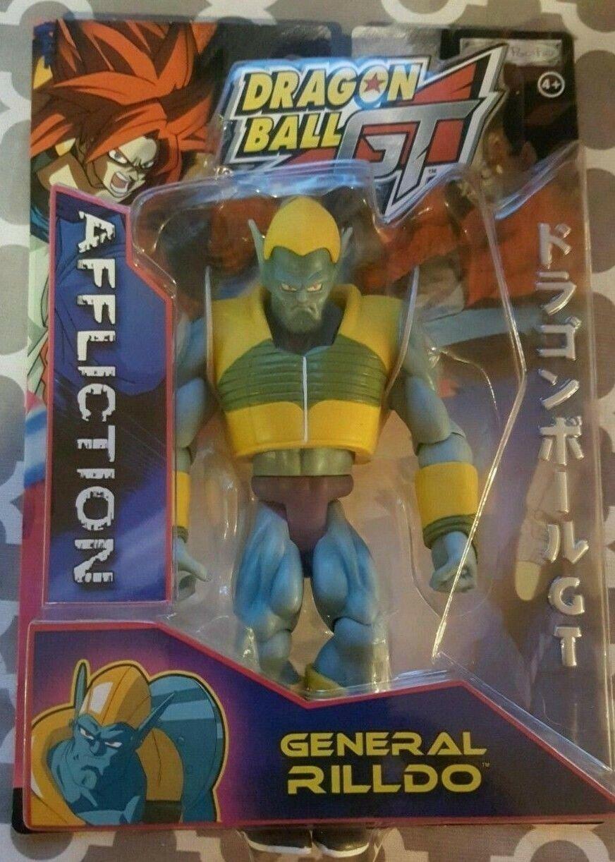 2004 Dragonball GT Affliction GENERAL RILLDO Figure JAKKS Pacific DBZ MOC RARE