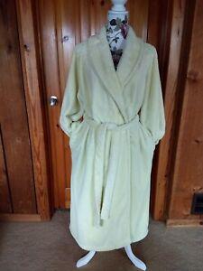 Charlotte-Yellow-Ultra-Plush-Wrap-Robe-Size-XL
