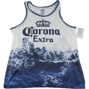 Corona-Extra-Beer-Mens-Sleeveless-Athletic-Muscle-Gym-Shirt-Tank-Top