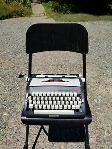 Restored 1968 Sperry Rand Remington 666 Brother JP-1 Typewriter And Case