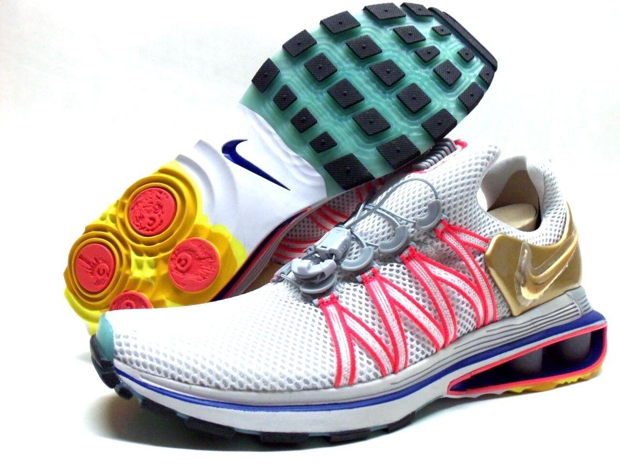 Nike shox schwerkraft riesige graue / metallisches metallisches metallisches gold größe der männer 9 [aq8553-009] ddc7ec