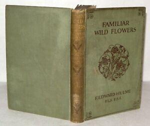 Familiar-Wild-Flowers-40-Coloured-Plates-F-Edward-Hulme-HB-DATED-1910-No-039-9